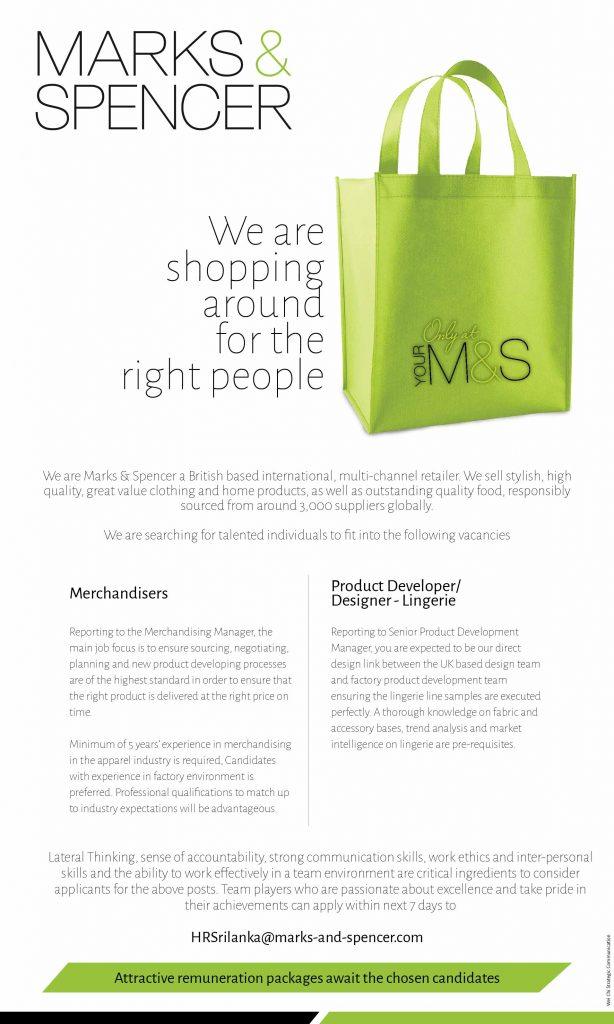 Mark and Spencer ad by go strategic communications